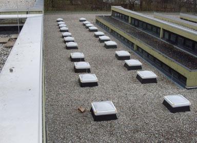 Von uns erstelltes Flachdach in Saarbrücken